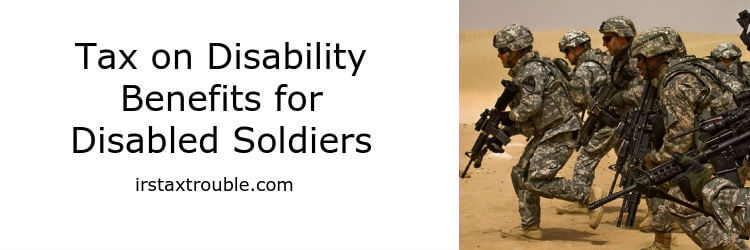 tax on military disability payments