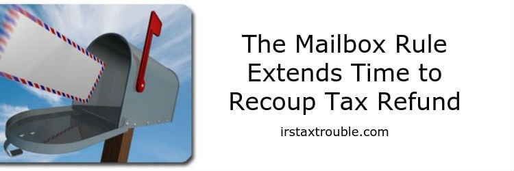 houston mailbox rule tax attorney